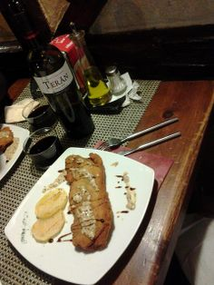 Marqués de Terán Crianza y Cordon Bleu en restaurante Taskleo (Calpe, Alicante)