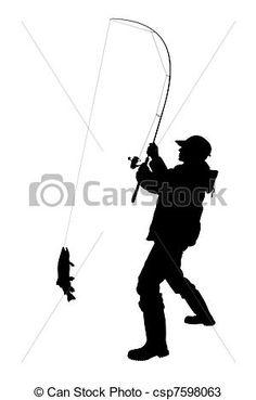 Resultado de imagen para siluetas de pescadores
