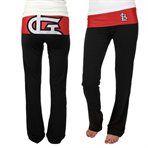 St. Louis Cardinals Ladies Sublime Knit Leggings - Black/Red