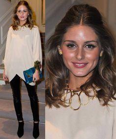 Olivia Palermo en la Paris Fashion Week con Dior