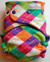 Really cute well-made cloth diapers