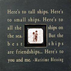 nautical sayings -