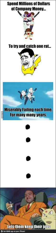 Team Rocket Fail