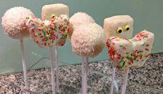 Cake pops - Comment varier les formes How to get various shapes  http://geneva-cakes.blogspot.ch/2014/08/cake-pops-au-dela-de-la-boule-comment.html