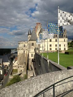 Chateau Amboise, Loire Valley France.