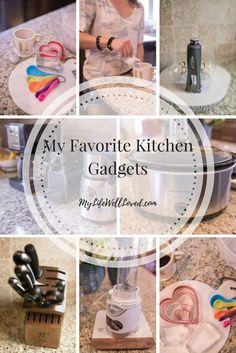 Favorite Kitchen Gadgets including cookie cutter from Heather Brown of MyLifeWellLoved.com