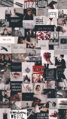 the vampire diaries Black Aesthetic Wallpaper, Iphone Wallpaper Tumblr Aesthetic, Iphone Background Wallpaper, Retro Wallpaper, Dark Wallpaper, Aesthetic Wallpapers, Iphone Wallpaper Vintage Hipster, Wallpaper Ideas, Vampire Diaries Poster