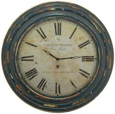 Kylar Wall Clock - Round Clock - Decorative Wall Clocks | HomeDecorators.com