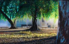 'Hide & Seek'  2012 Oil on canvas 76x50cm