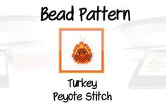 Personally, I think that Turkeys are remarkably unattractive so it was my goal to infuse this misunderstood bird with a bunch of cuteness. I hope I was able to accomplish this task and give it a pardon from the dinner table.  This turkey pattern will be delivered to you in a 1 page PDF file for you to download to your device. The pattern contains the information needed to bead this Autumn design but it does not include step by step instructions. You will need to have knowledge of peyote or…