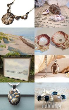 She Sells Seashells by the Seashore  by Laurie and Joe Dietrich on Etsy--Pinned with TreasuryPin.com