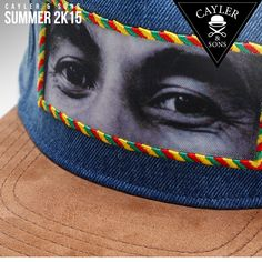 Cayler & Sons Snapback Bob Marley #reggae #rasta #cap www.rudestylz.de