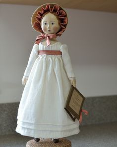 Gail Wilson Jane Austen doll by JLP2000, via Flickr
