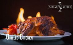 Try the delicious Grilled Chicken slowly grilled to juicy perfection at Nawaab Sheikh Palace.