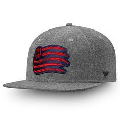 official photos 5b6a4 584e1 Men s New England Revolution Fanatics Branded Black Chambray Emblem Adjustable  Snapback Hat, Your Price   29.99