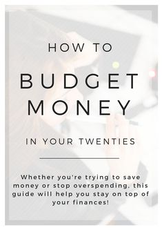 Whether you're trying to save money or stop overspending, this guide will help you stay on top of your finances! #budget #printable