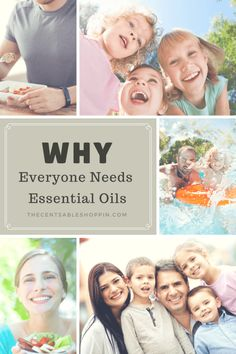 Did we ever think we needed Essential Oils? The answer is NO. We used one essential oil several years ago that worked so well, it led us to be regular users - now we can't live without them.