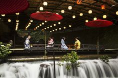 夏の京都貴船料理旅館ひろ文で楽しむ川床料理
