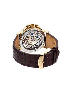 What's so special about Casablanca Theorema watch? Well just take a look at the shape of this fabulously built timepiece, and you will see the style and appeal Casablanca, White Leather, Black Gold, Germany, Take That, Mens Fashion, Watches, Booklet, Silver