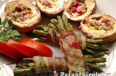 Karácsonyi göngyölt pulykamell | Receptkirály.hu Meat Recipes, Baked Potato, Sushi, Xmas, Christmas, Menu, Baking, Ethnic Recipes, Food