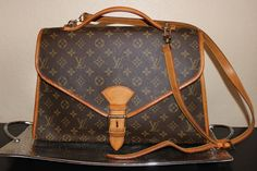 Authentic Beverly Briefcase Monogram Hand Bag