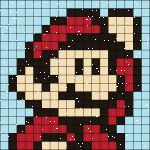 Welcome to the home of the Super Mario Quilt Along & Block of the Month club!  This super-sized quilt finishes at 82″ x 100″ and is made up of twelve of our favorite Mario character…