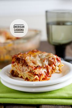 American Lasagna - Taste and Tell