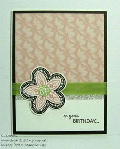 Layered Triple Treat by CLOcards - Cards and Paper Crafts at Splitcoaststampers