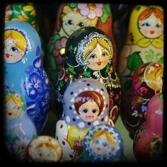 Russian dolls. I've always wanted some Russian dolls.