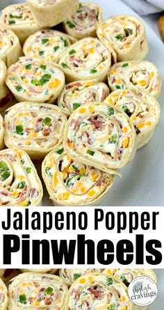 Jalapeno Poppers Pinwheels - Perfect On The Go Lunch! - Jalapeno Poppers Pinwheels – Perfect On The Go Lunch! Jalapeno Poppers, Yummy Appetizers, Appetizer Recipes, Holiday Appetizers, New Years Appetizers, Cheese Appetizers, Appetizer Ideas, Pinwheel Recipes, Tortilla Pinwheel Appetizers