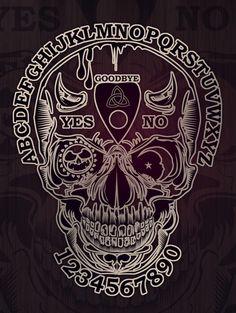Ouija Skull