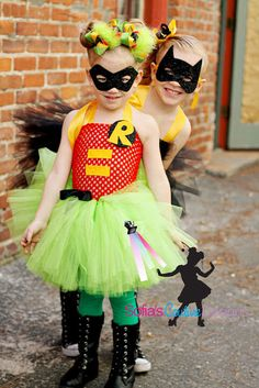 READY to ship size 4-6 Robin superhero by SofiasCoutureDesigns