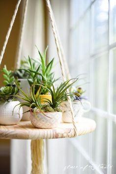 Beautiful DIY floating shelf