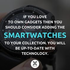 If you are technology enthusiast then adding a smartwatch to your collection is a must.  #Smartwatches #Gadgets #Technology #Lifestyle #MyExoro