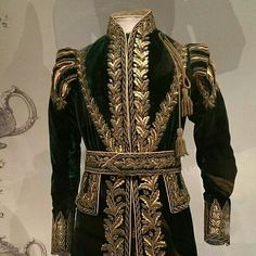 1821, worn by the Grand Falconer at the coronation of King George IV