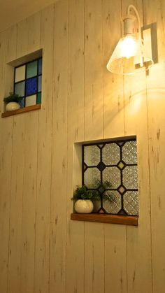 Stained Glass Crafts, Stained Glass Designs, Stained Glass Patterns, Stained Glass Windows, Kitchen Interior, Interior And Exterior, Tv Wall Decor, Glass Panels, Windows And Doors