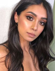 Pinterest: DEBORAHPRAHA ♥️ gorgeous makeup look for a night out. Neutral tones makeup #flawlessmakeuptips