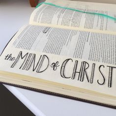 "I love 2 Corinthians reminding me that my faith doesn't rest on human wisdom but on God's power. ""But we have the mind of Christ."" by mitzicsmith My Bible, Bible Art, Bible Verses, Praise The Lords, Praise God, Corinthians Bible, Bible Doodling, King Of My Heart, Biblical Inspiration"