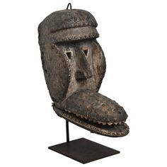 Rare Articulated African Mask