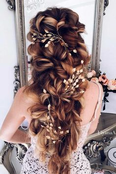 Wedding hairstyles for long hair are huge in number, which makes it not so… -