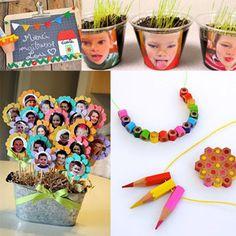 RentréeDiscount - Le Blog : Vite, un cadeau pour la maîtresse ! (ou le maître) Brin, Planter Pots, Moment, Scrap, Thank You Gifts, Easy Christmas Cards, Kids Hands