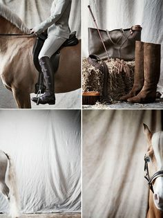 "An extraordinary photosession of the dutch photographer Ditte Isager for the ""Horse Riders Journal""."