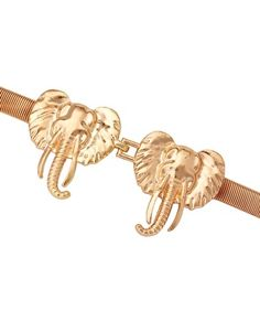 ASOS | ASOS Elephant Buckle Chain Waist Belt at ASOS