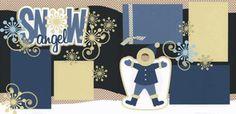 Snow Angel-Boy Page Kit