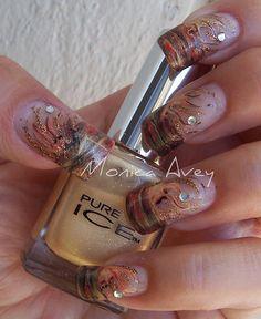 unhas decoradas nails art by monibela, via Flickr