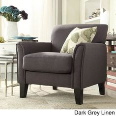 TRIBECCA HOME Uptown Modern Accent Chair - 16005240 - Overstock.com Shopping - Great Deals on Tribecca Home Living Room Chairs