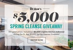 Dr. Axe's $5,000 Spring Cleanse Giveaway