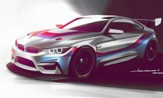 racing is certainly on the rise and what you see here is the upcoming contender from BMW. The new will actually be replacing the and it joins the BMW Motorsport lined up consisting of the and the Racing. Bmw M4, M Bmw, Bmw Design, Car Design Sketch, Car Sketch, Sport Cars, Race Cars, Bmw M235i, Nova Bmw