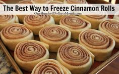 The Best Way to Freeze Cinnamon Rolls + Recipe #OneHundredDollarsaMonth