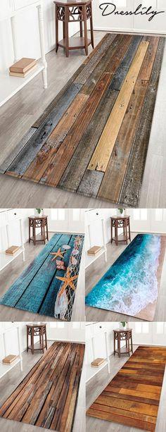 fall home decor Wood Board Print Water Resistant Floor Mat. Decor, Diy Furniture, Bedroom Design, Home Decor, Rug Decor, Trending Decor, Interior Design Living Room, Interior Design, Interior Design Bedroom